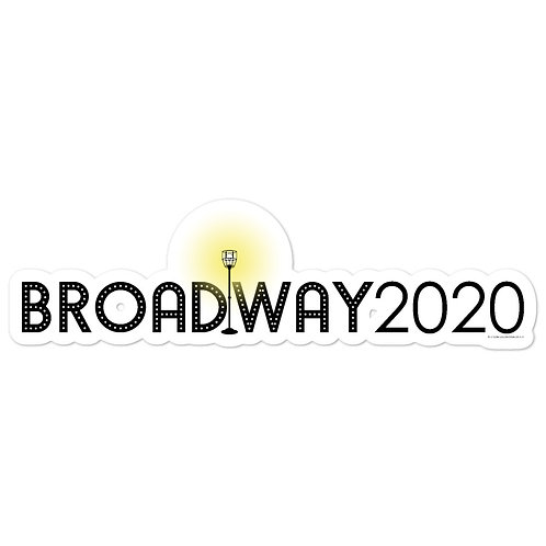 Broadway 2020 Ghost Light Memorial Stickers