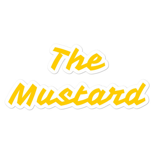 The Mustard Stickers