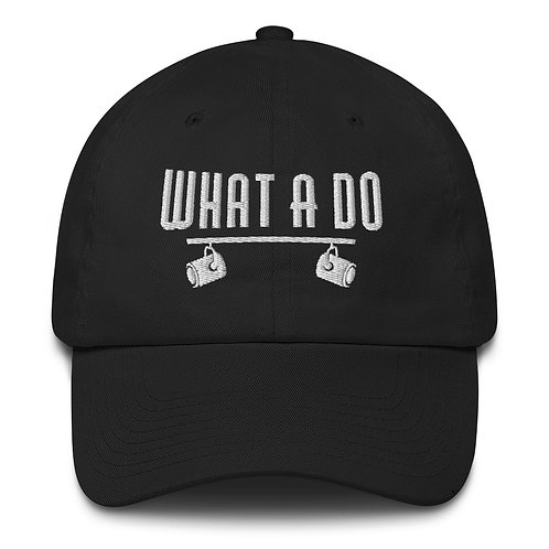 Embroidered What A Do Logo Cotton Cap