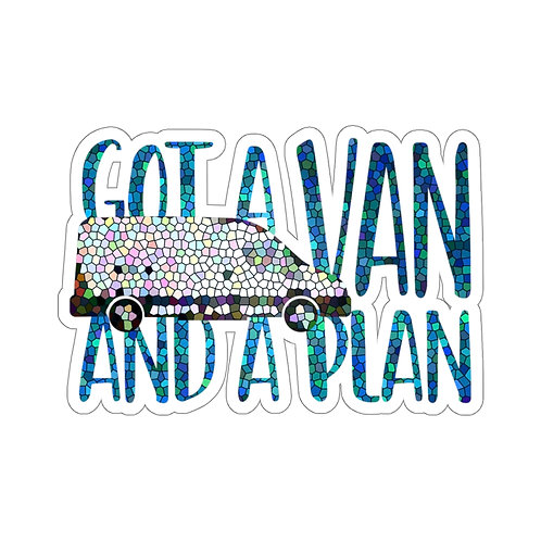 Got a VAN and a PLAN Stickers