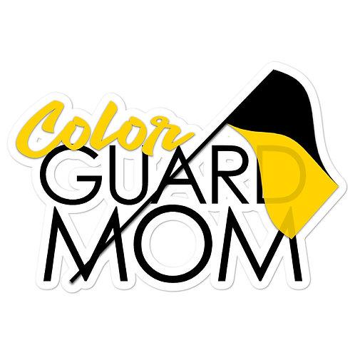 """""""Color Guard Mom"""" Stickers"""