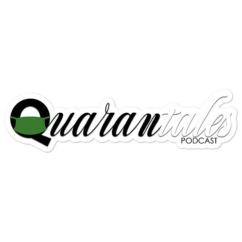Quarantales Podcast Stickers
