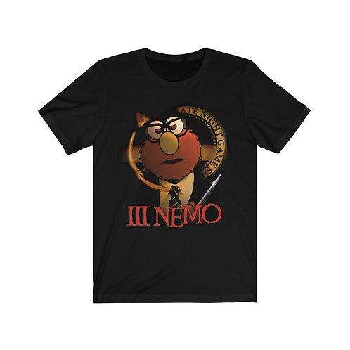 III NEMO Unisex Jersey Short Sleeve Tee