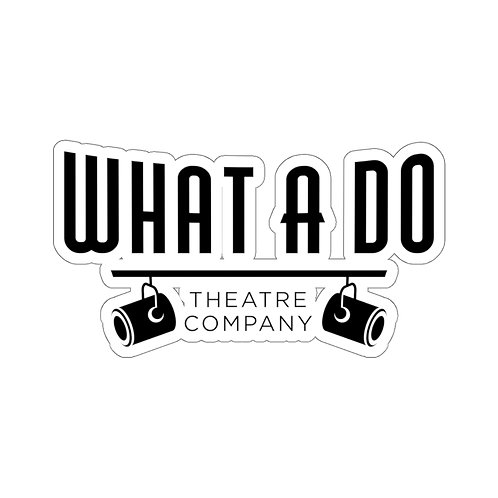 What A Do Logo Stickers