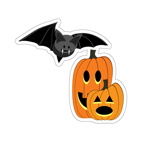 "Halloween Michigan ""Map"" Stickers"