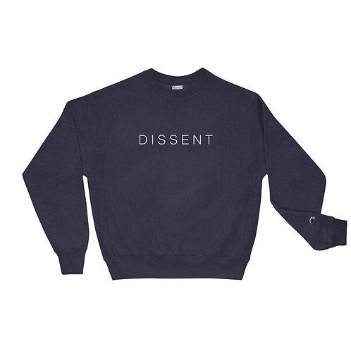 "RGB ""DISSENT"" Champion Sweatshirt"