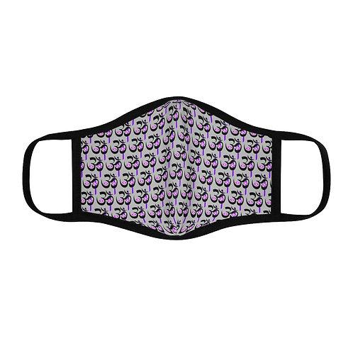 Elder Mask Pattern Fitted Face Mask