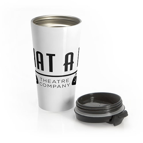What A Do Logo Stainless Steel Travel Mug