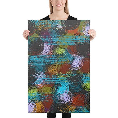 """Circles"" Canvas Print [Multiple Sizes]"