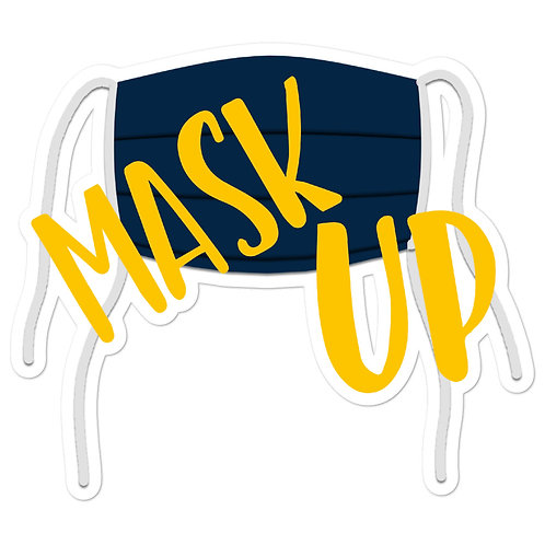 Mask Up Stickers