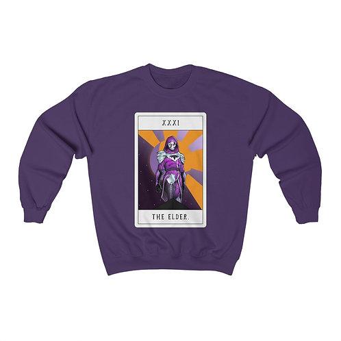 THE ELDER. Tarot Card Crewneck Sweatshirt
