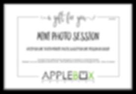 AppleBox Creative Gift Certificate MINI
