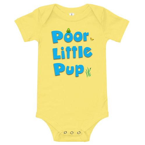Poor Little Pup Baby Bodysuit