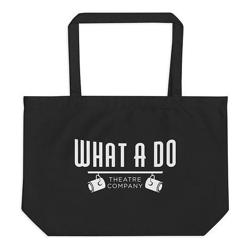 What A Do Logo Large Organic Tote