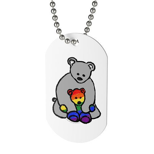 "Pride Mama ""Dog"" Tag"