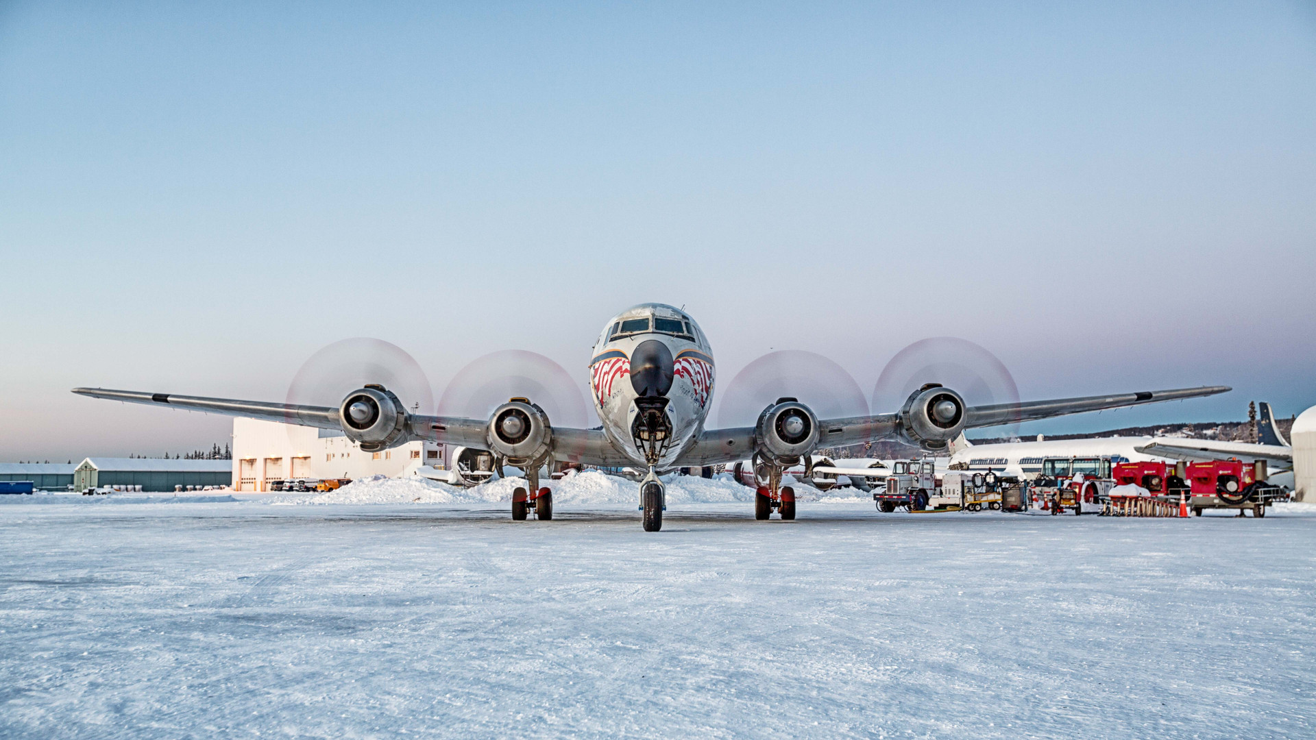 Everts Douglas DC-6 'Spirit of America'