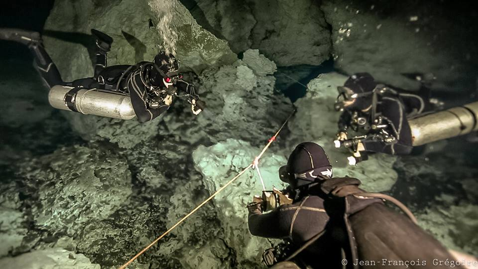 Intro to cave diving guided