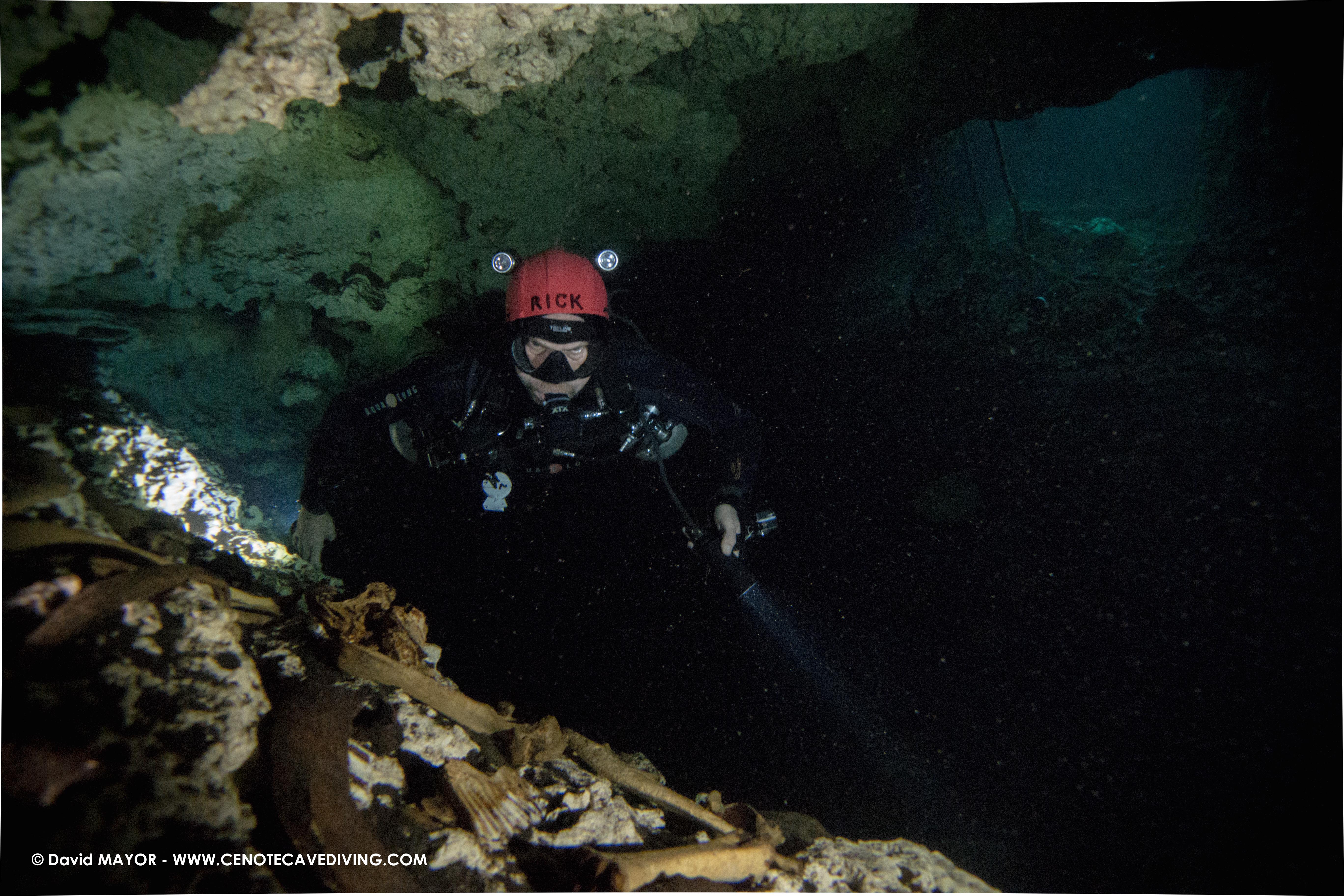 Cave Diving at Cenote Vaca Ha