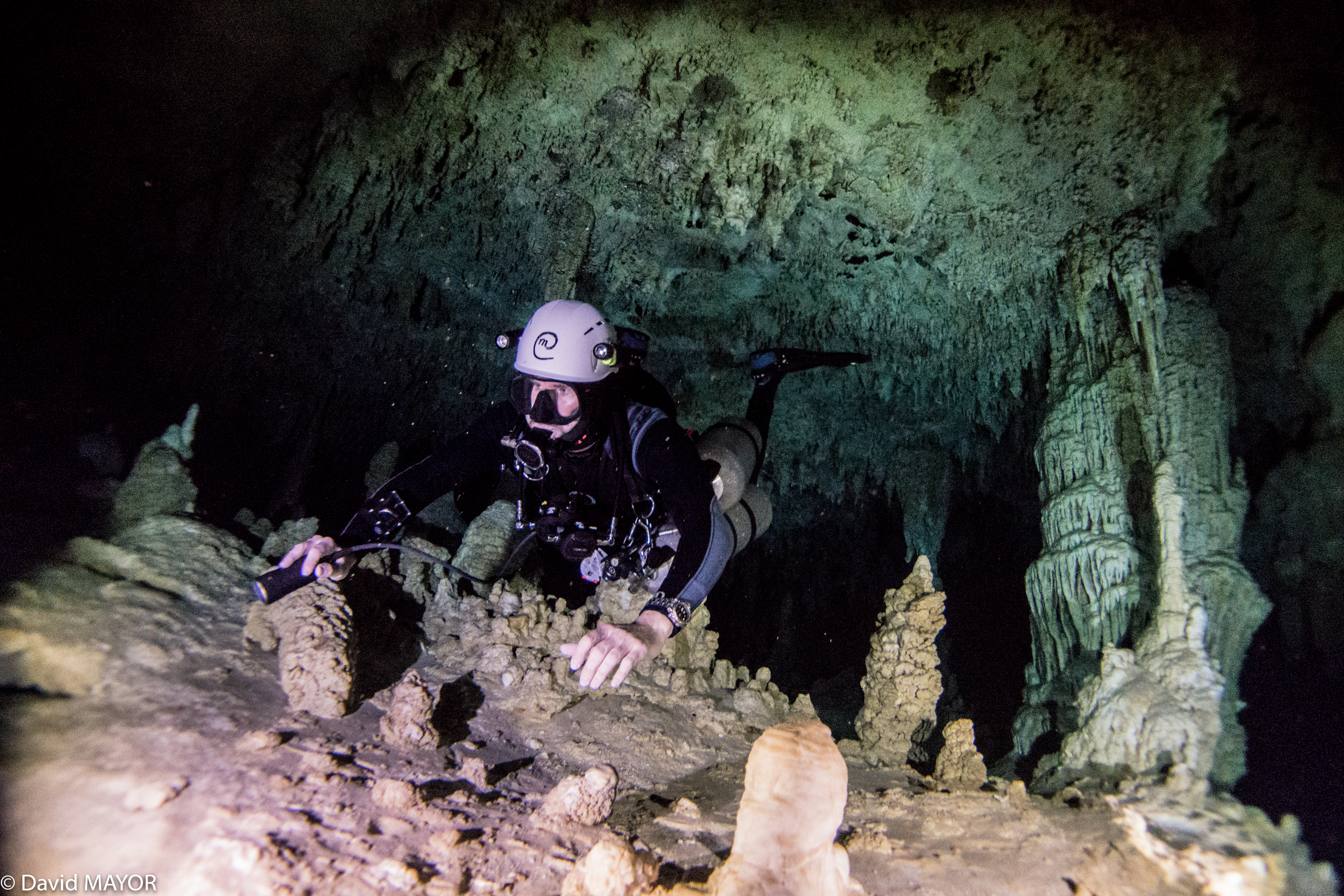 Cave Diving at Grand Cenote