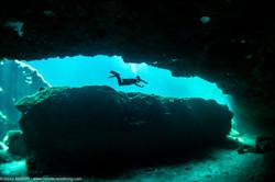 Cavern Diving at Casa Cenote