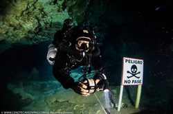 Cenote Tajma Ha CCR Cave diving
