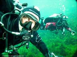 Technical and rebreather diver