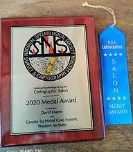 David Mayor cave cartographer National Speleogical Society Salon 2020 winner