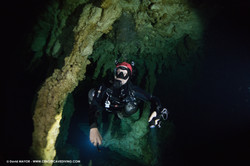 Cave Diving at Cenote Vaca Ha