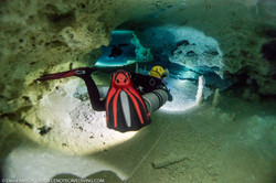 Cave Diving at Cenote Nariz - Tulum
