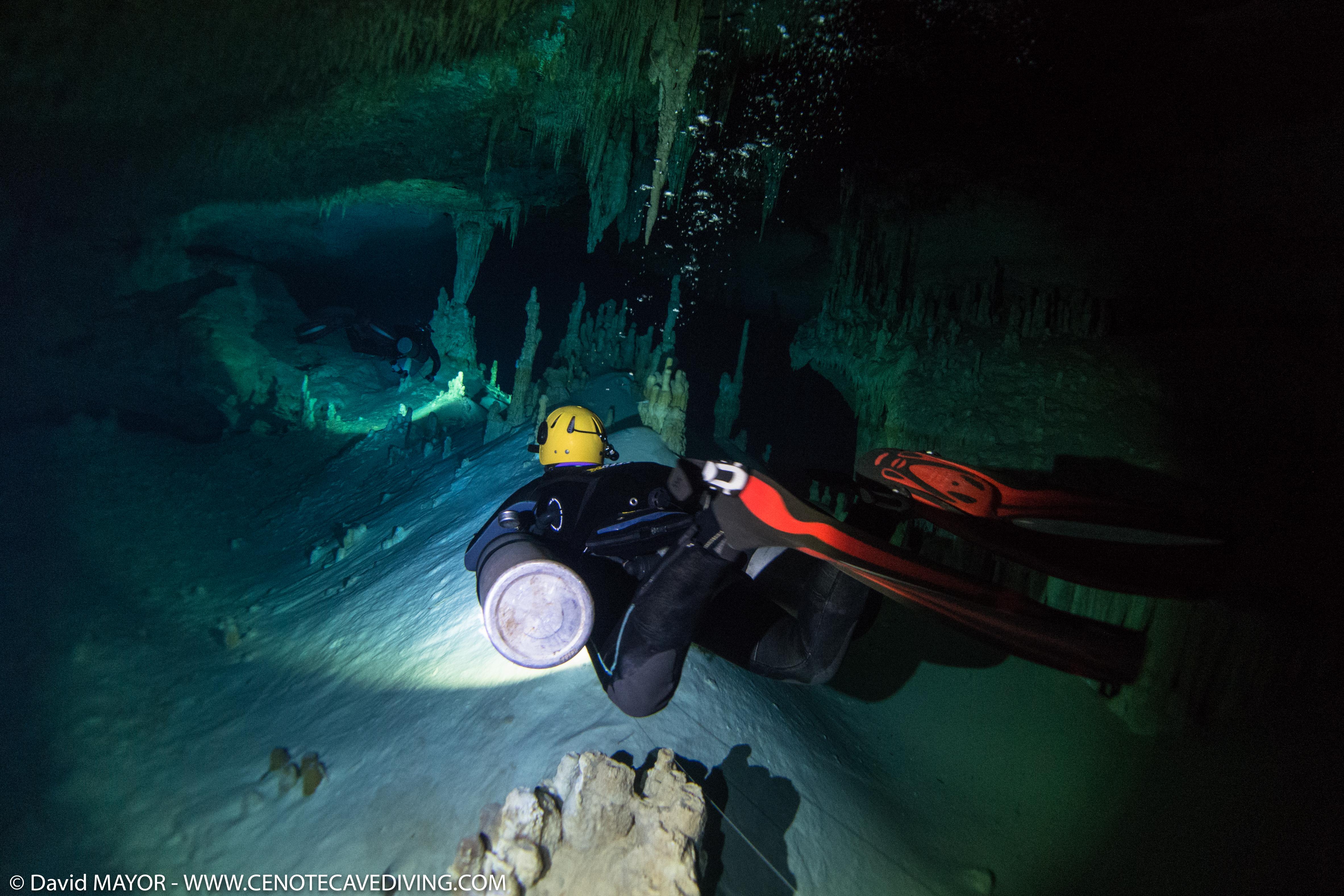 Cave Diving at Cenote Nariz