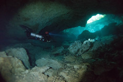 Cave Diving at Cenote Tajma Ha