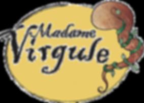 Madame Virgule - Logo