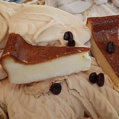 カフェオレ&ベイクドチーズケーキ