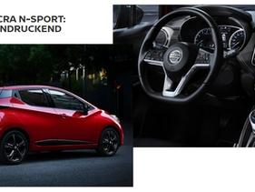 Der Nissan MICRA N-SPORT bei der Auto Lemp AG!