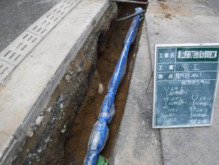 灘(上野通8丁目他)配水管取替工事