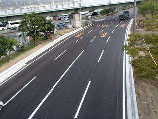ポートアイランド地区(神戸大橋周辺)道路改良工事