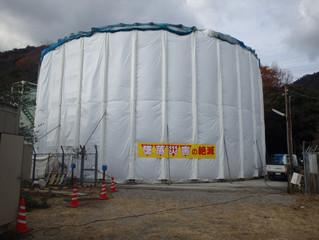 灘特1高層配水池耐震補強工事