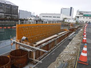 兵庫運河(和田山通地区)護岸改良工事