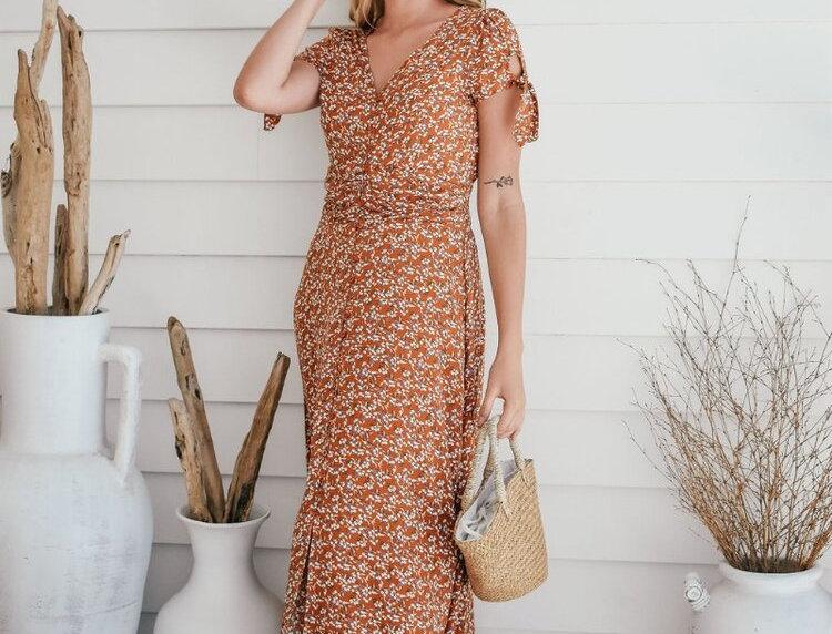 SANCTUM THE LABEL Social Dress - Ditsy print