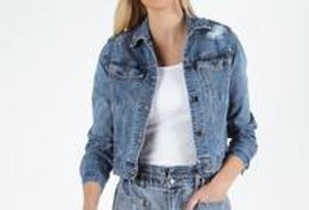 SASS Maxie Denim Jacket Indigo Wash