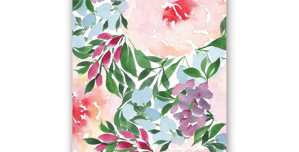 NOTEBOOK - Winter Blooms