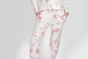 SASS Sadie Pants Tie Dye Pink