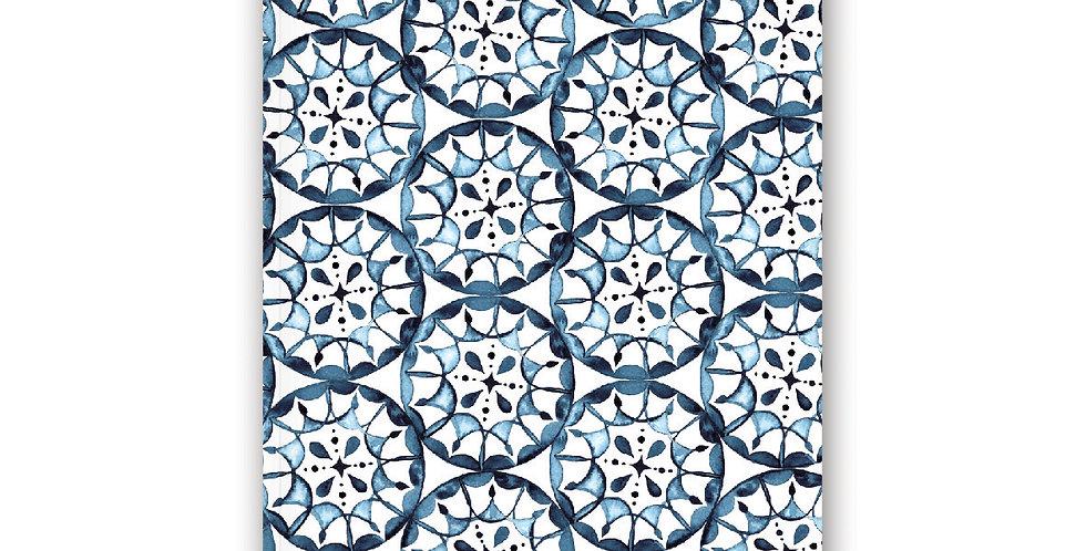 NOTEBOOK - Blue Tile