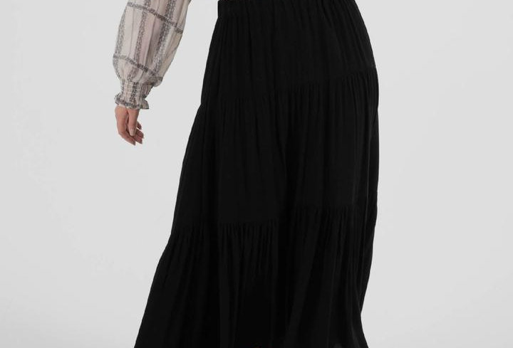 SASS Savanna Skirt - Black