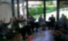 Atelier thérapeutique qi gong adapté en EPHAD aveyronnaise