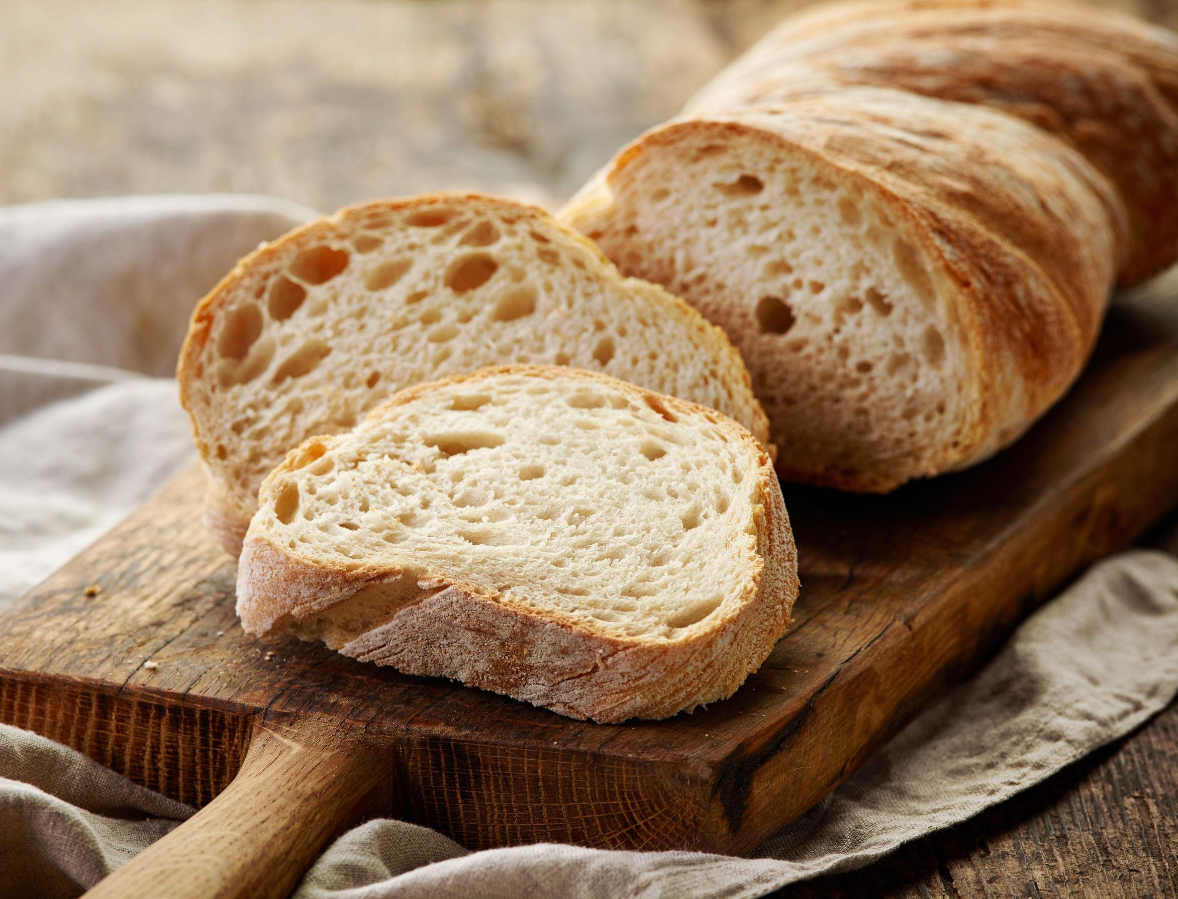 Pan hecho en horno de leña