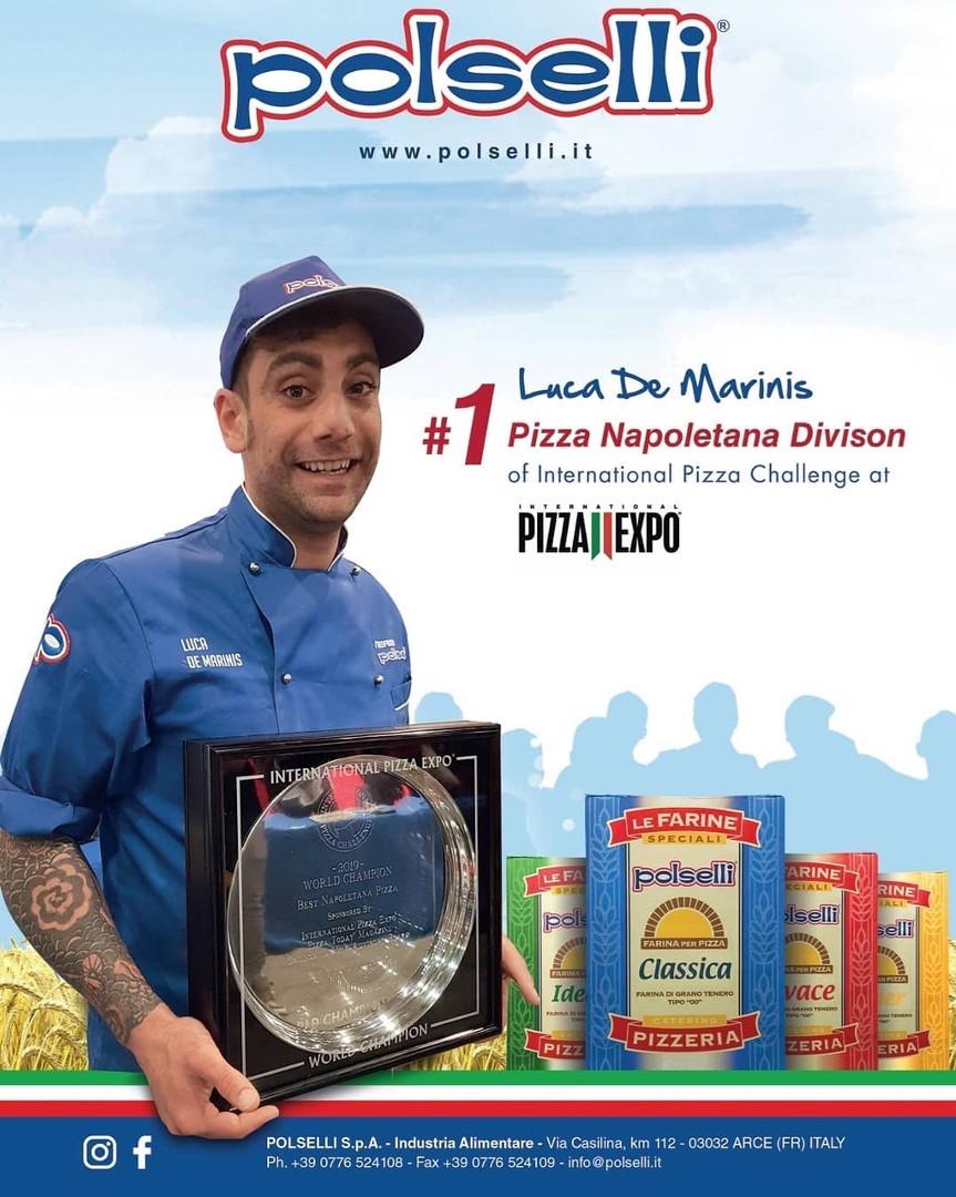 Campeón del mundo en Pizza Napoletana