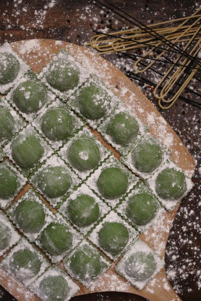 Rvioli hechos en casa