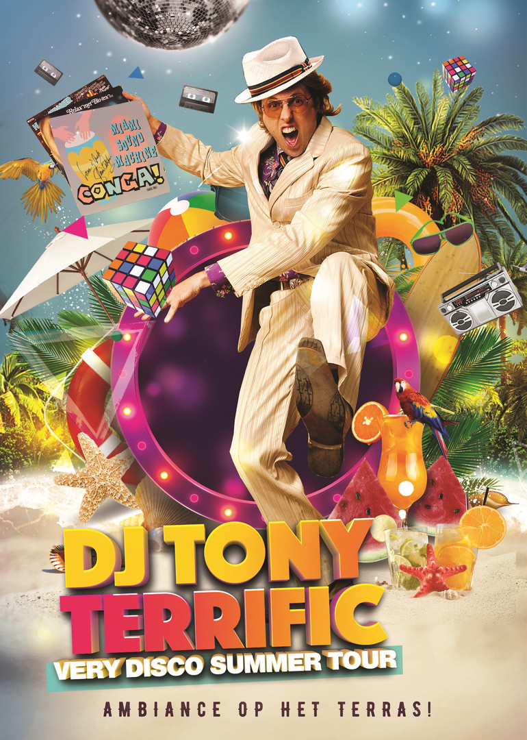 Tony Terrific - Very Disco Summer Tour