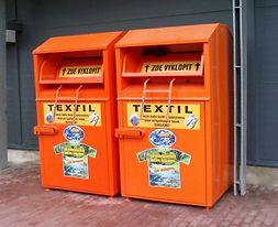 Sběrný box textil